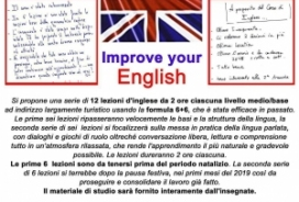 2018/12/17 IMPROVE YOUR ENGLISH