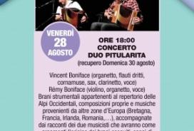 2020/08/28 CONCERTO DUO PITULARITA