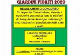 2020/08/20 CONCORSO ORTI, BALCONI E GIADINI FIORITI 2020