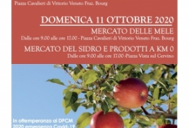 2020/10/10-11 MERCATINO DELLE MELE, DEL SIDRO E PRODOTTI A KM 0