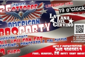 2018/10/28 AMERICAN BBQ PARTY ALLA TANA