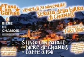2018/11/23 SERATA DELLA BIRRA DI CHAMOIS