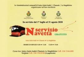 2020/08/31 SERVIZIO NAVETTA