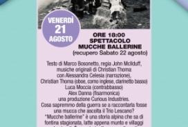 2020/08/21 SPETTACOLO MUCCHE BALLERINE