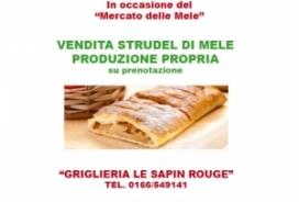 2020/10/10-11 VENDITA STRUDEL DI MELE - PRODUZIONE PROPRIA
